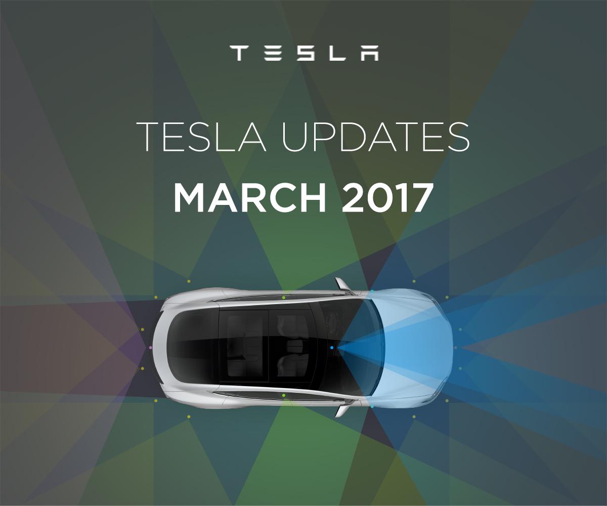 Tesla Updates